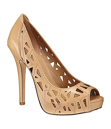 BCBGeneration Landee Peep-Toe Pumps