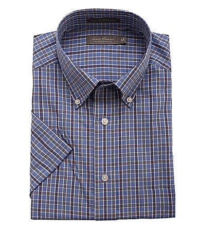 Daniel Cremieux Signature Big & Tall Plaid Sportshirt