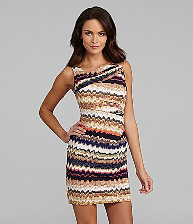 Vince Camuto Vista Print Dress