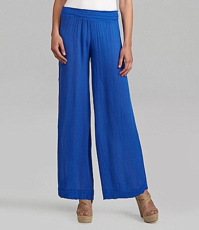 Steve Madden Wide-Leg Beach Pants