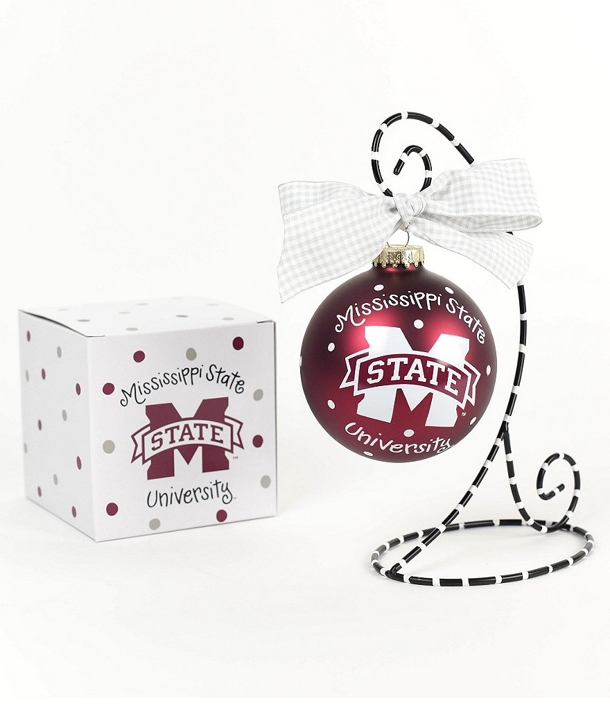 Coton Colors Mississippi State University Logo Ornament