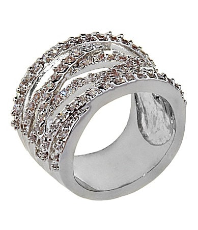 Tivoli Pave Wrap Band Ring