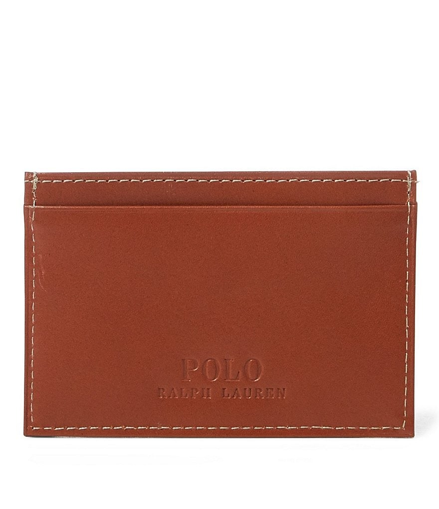 Polo Ralph Lauren Burnished Leather Card Case