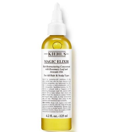 Kiehl S Hair Elixir Review Natural Hair