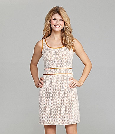Antonio Melani Agatha Sleeveless Lace Scoopneck Dress
