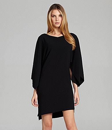 Elie Tahari Patsy 3/4-Sleeve Boatneck Dress