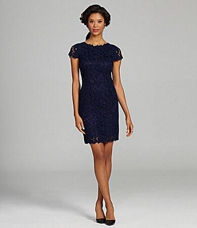 Elie Tahari Lolly Floral Lace Dressdillards | Women Dress ...