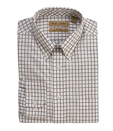 Roundtree & Yorke Gold Label Checked Sportshirt