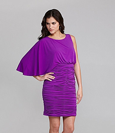 Gianni Bini Vina Dolman-Sleeve Dress