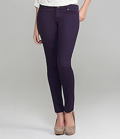 Gianni Bini Anthony Colored Skinny Jeans