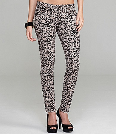 Gianni Bini Pepper Leopard-Print Pants