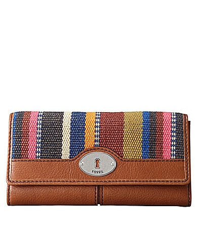 Fossil Maddox Flap Clutch Wallet