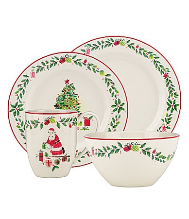 Lenox Holiday Illustrations Dinnerware