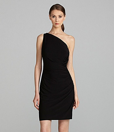 Cachet One-Shoulder Dress