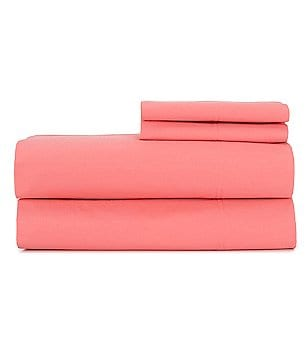 Noble Excellence 300-Thread-Count Cotton Percale Sheet Set