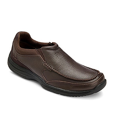 Rockport Men�s Waldron Ledge Moc-Toe Slip-On Shoes