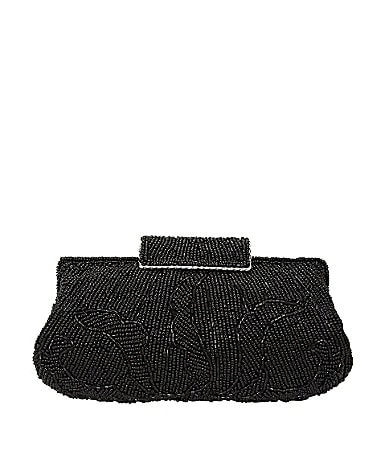Nina Mazey Beaded Clutch