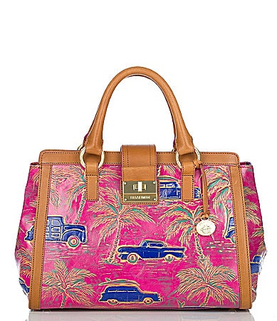 Brahmin Copa Cabana Collection Annabelle Satchel