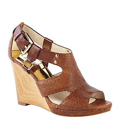 MICHAEL Michael Kors Briyette Wedge Sandals