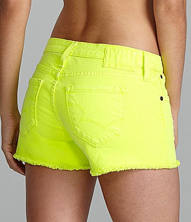 Big Star Remy Neon Shorts