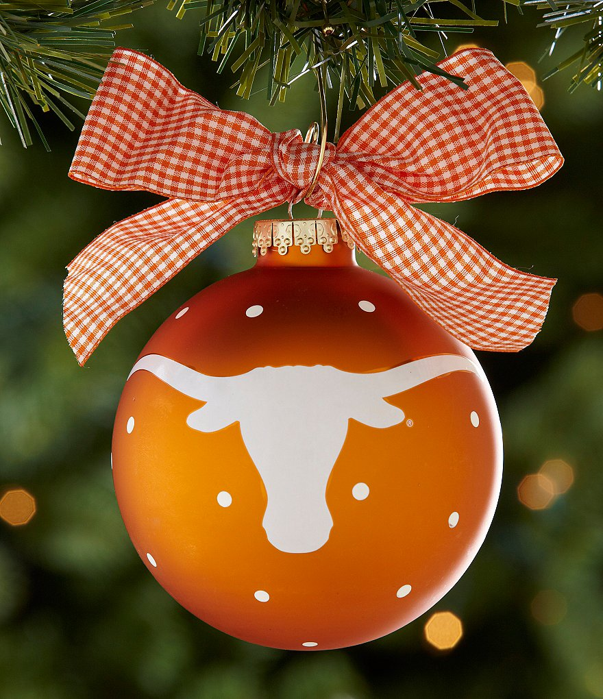 Coton Colors University of Texas Mascot Ornament