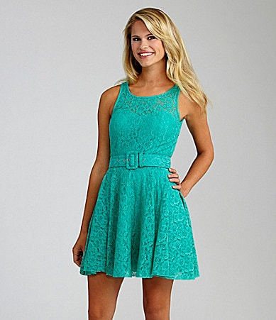 INA Lace Skater Dress