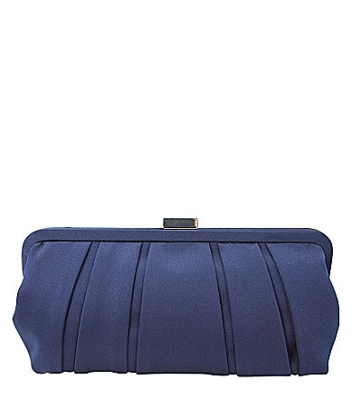 Nina Logan Pleated Clutch