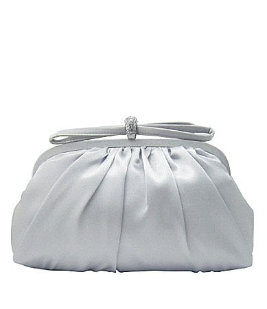 Nina Lani Satin Clutch