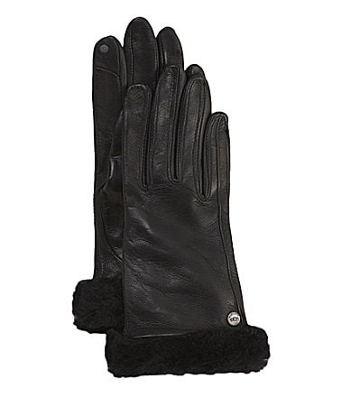 UGG Leather Smart Gloves