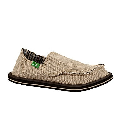 Sanuk Boys Hemp Shoes