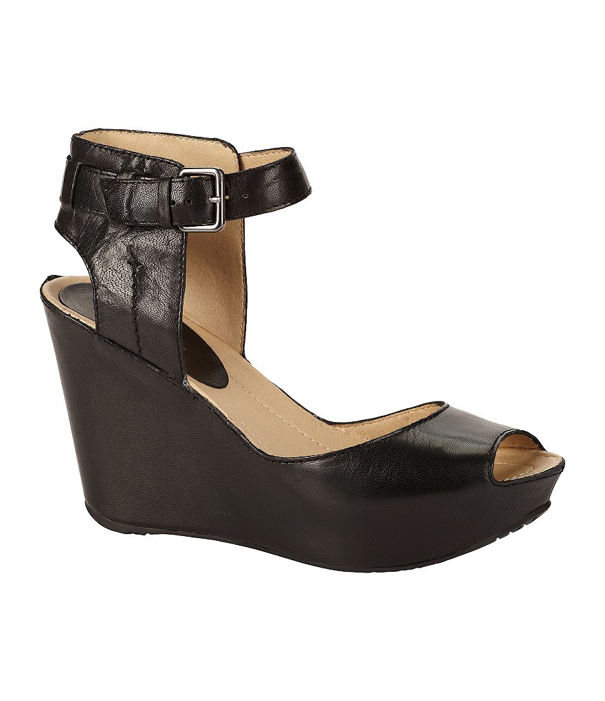 Kenneth Cole Reaction Sole My Heart Ankle-Strap Wedge Sandals
