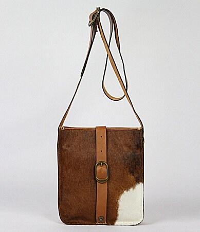 Patricia Nash Venezia Cavalino Hair Calf Cross-Body Bag