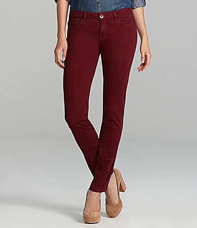 Chelsea & Violet Colored Denim Skinny Jeans