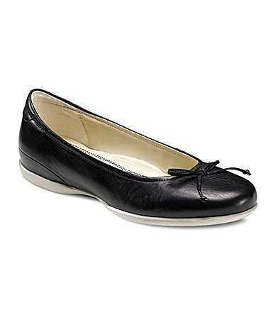 Ecco Cosmic Ballerina Leather Flats