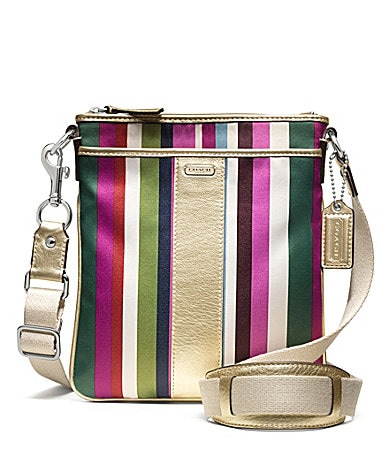 COACH LEGACY STRIPE SWINGPACK