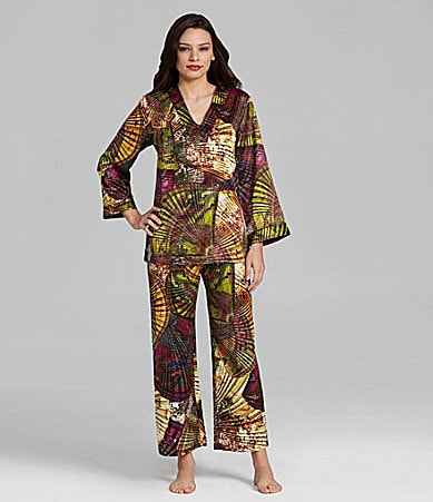 N by Natori Liu Tunic Pajamas