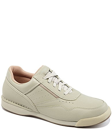 rockport s prowalker leather walking shoes dillards