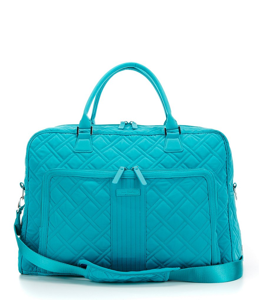 Vera Bradley Quilted Weekender Travel Bag