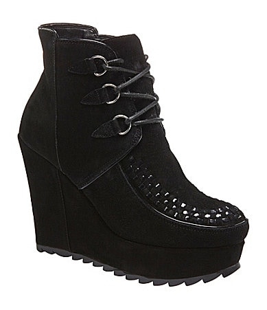 Volatile Kasmir Wedge Booties