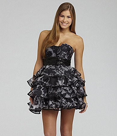 Roberta Ruffle Tier Dress