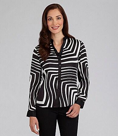 Zebra Print Blouse 78