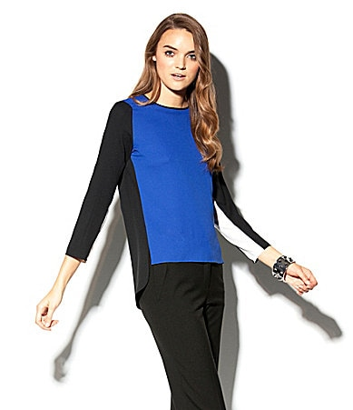 Vince Camuto Colorblock Blouse