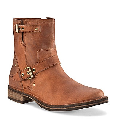 UGG Australia Fabrizia Leather Boots