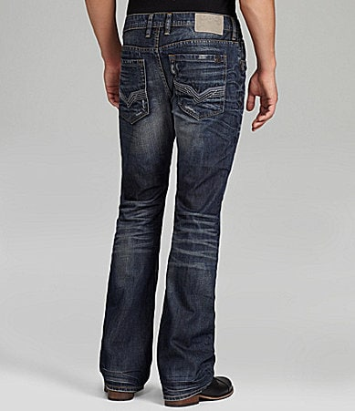 Buffalo David Bitton King New Barry Slim-Fit Bootcut Jeans