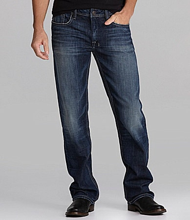 Buffalo David Bitton Driven Bullet Straight-Leg Jeans