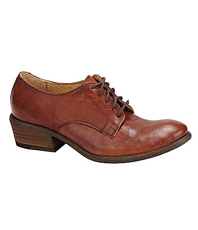 Frye Women�s Carson Leather Oxfords