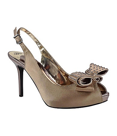 J. Renee Queenie Slingback Pumps