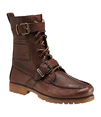 Polo Ralph Lauren Men�s Radbourne Leather Boots