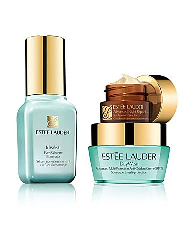 Estee Lauder Even Skintone Solutions with full-size Even Skintone Illuminator Set