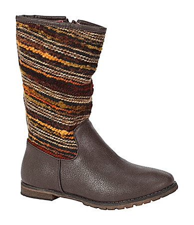 Volatile Girls Koop Sweater-Detail Boots